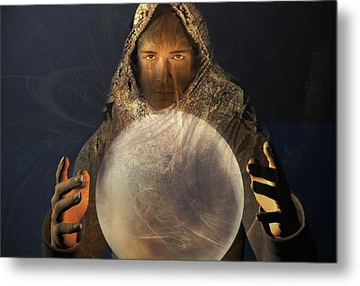 Mage Metal Print by Carol and Mike Werner