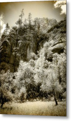 Metal Print featuring the photograph Magic Cliffs Outside Sedona by Dave Garner