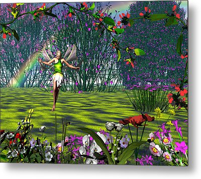 Magic Garden Metal Print