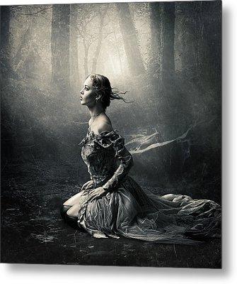 Magic Light Metal Print by Cindy Grundsten