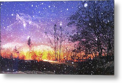 Magic Of Maine Metal Print