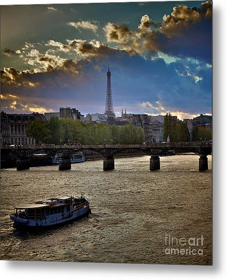 Magic Paris Metal Print