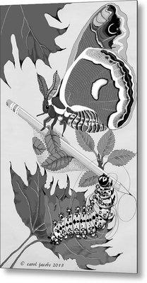 Magic Pencil Metal Print