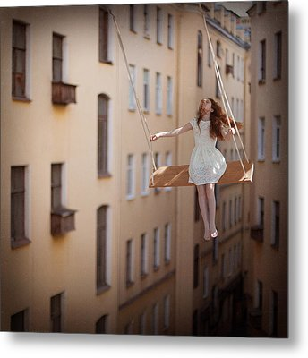 Magic Swings Metal Print by Anka Zhuravleva