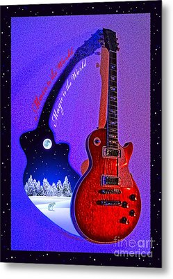 Magic To The World... Music To The World .2 Metal Print by Gem S Visionary