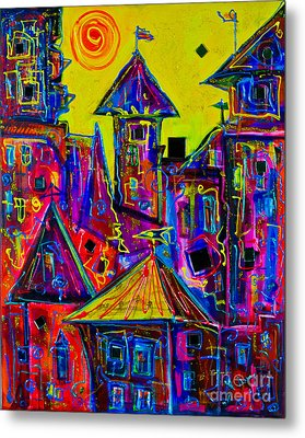 Magic Town 2 Metal Print