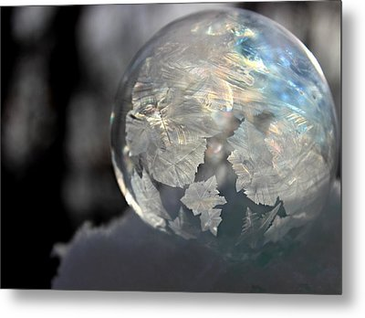 Magical Bubble Metal Print
