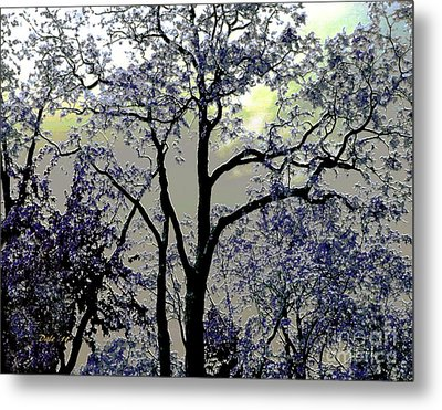 Magical Garden Metal Print by Dale   Ford