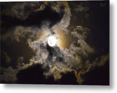 Magical Moon Metal Print