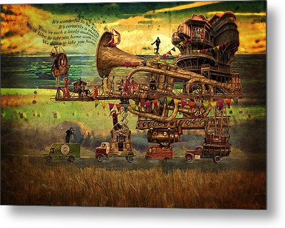 Magical Mystery Tour Metal Print by Duncan Roberts