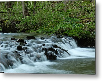 Magical River Metal Print by Julie Andel