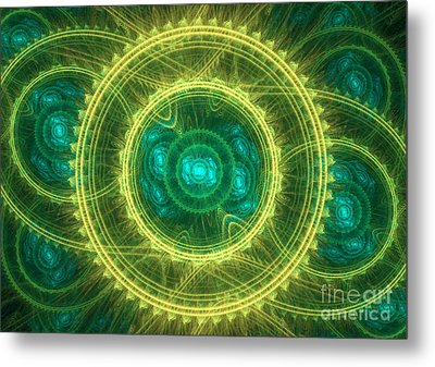 Magical Seal Metal Print