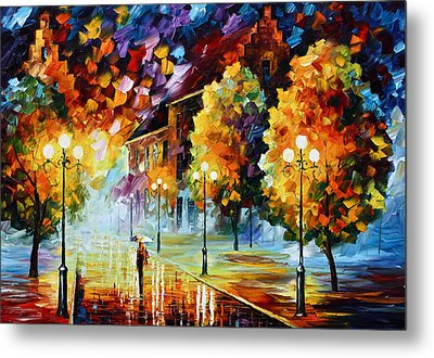 Magical Time Metal Print by Leonid Afremov