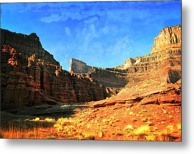 Magnificent Butte Metal Print by Marty Koch
