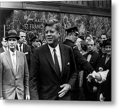 John F. Kennedy Metal Print