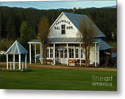 Metal Print featuring the photograph Magnolia Saloon by Sam Rosen