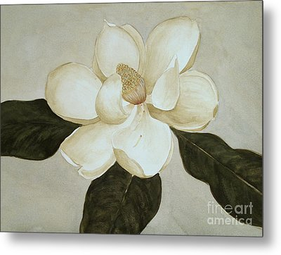 Metal Print featuring the painting Magnolia Wave by Nancy Kane Chapman