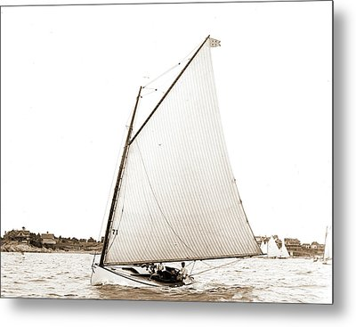 Magpie, Magpie Yacht, Yachts Metal Print