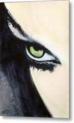 Magyar Eyes Metal Print by Ed  Heaton