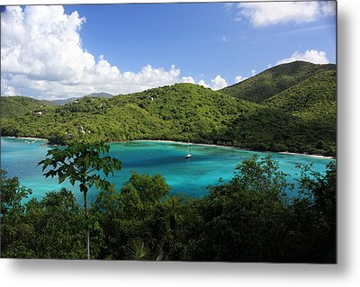 Maho Bay Metal Print by Heather Green