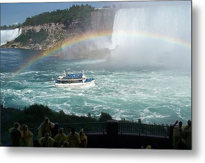 Metal Print featuring the photograph Maid Of The Mist -41 by Barbara McDevitt