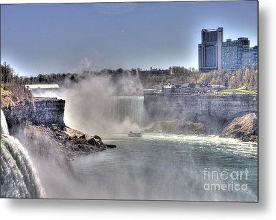 Metal Print featuring the photograph Maid Of The Mist by Jim Lepard