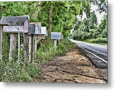 Mail Route Metal Print by Scott Pellegrin