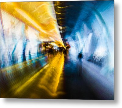Main Access Tunnel Nyryx Station Metal Print