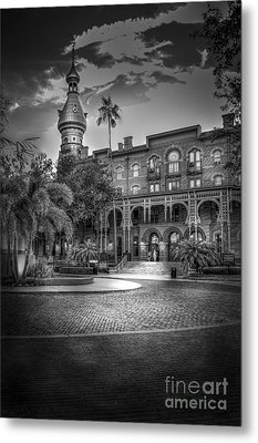 Main Entry Metal Print