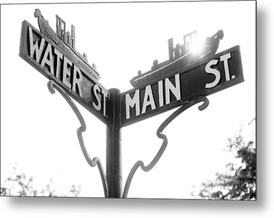 Metal Print featuring the photograph Main St II by Courtney Webster