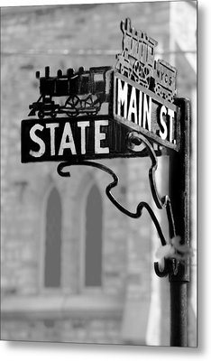 Metal Print featuring the photograph Main St IIi by Courtney Webster