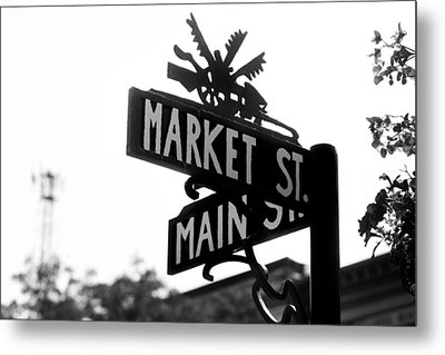 Metal Print featuring the photograph Main St Iv by Courtney Webster