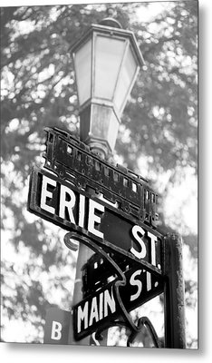 Metal Print featuring the photograph Main St V by Courtney Webster