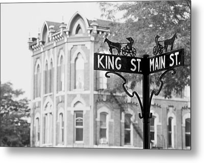 Metal Print featuring the photograph Main St Vi by Courtney Webster