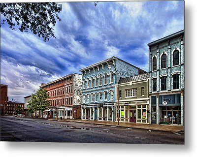 Main Street Usa Metal Print by Tom Mc Nemar