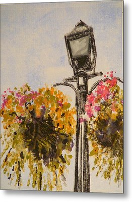 Main Street Metal Print by Valerie Lynch