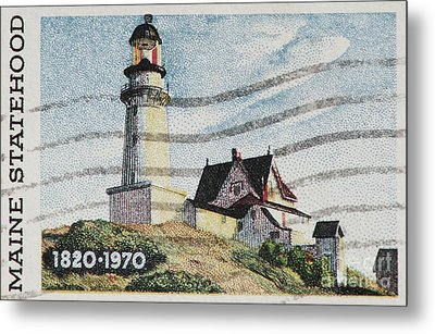 Maine 1820-1970 Metal Print by Andy Prendy