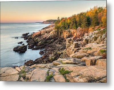 Maine Coastal Photograph - Acadia National Park Metal Print by Bill Swindaman