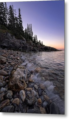 Maine Dawn Metal Print by Rick Berk