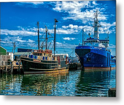 Maine Responder And Meridian Portland Me Metal Print by Bob Orsillo