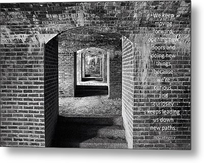 Maine's Fort Knox Metal Print by Barbara West