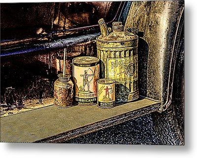Metal Print featuring the photograph Maintenance by Jay Stockhaus