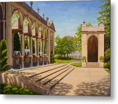 Majestic Entrance Metal Print