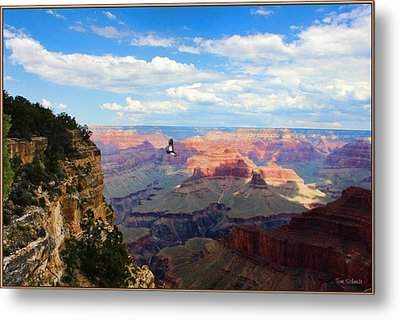 Majestic Grand Canyon Metal Print by Tom Schmidt