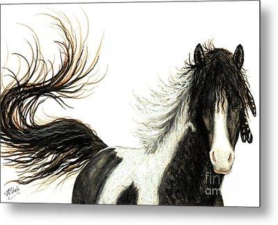 Majestic Horse Series #76 Metal Print by AmyLyn Bihrle