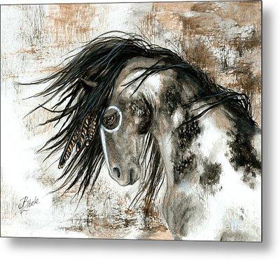 Majestic Horse Series 88 Metal Print by AmyLyn Bihrle