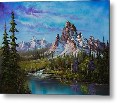 Majestic Morning Metal Print by C Steele