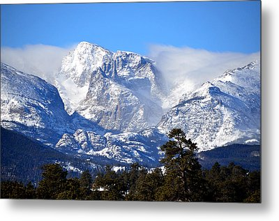 Majestic Mountains Metal Print by Tranquil Light  Photography