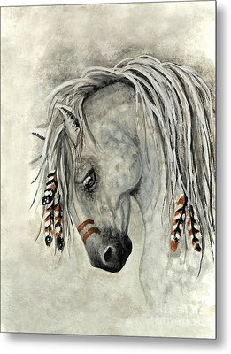 Majestic Mustang 30 Metal Print