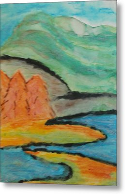 Metal Print featuring the painting Majestic by Thomasina Durkay